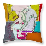 Abstraction 113 Throw Pillow