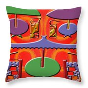 Abstraction 177 Throw Pillow by Patrick J Murphy