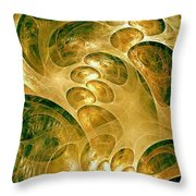Abstraction 192-03-13 Marucii Throw Pillow