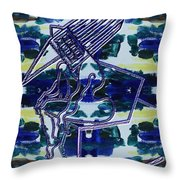 Abstraction 231 Throw Pillow