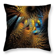 Abstraction 252-05-13 Marucii  Throw Pillow