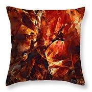 Abstraction  272 - Marucii Throw Pillow