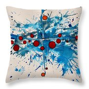 Abstraction 36 Throw Pillow