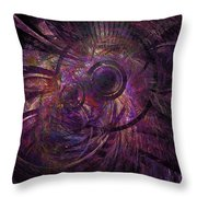 Abstraction 426-08-13 Marucii Throw Pillow