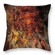 Abstraction 464-09-13 Marucii Throw Pillow