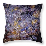 Abstraction 472-09-13 Marucii Throw Pillow