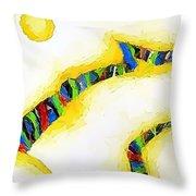 Abstraction 472 - Marucii Throw Pillow