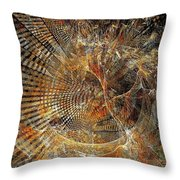 Abstraction 473-09-13 Marucii Throw Pillow