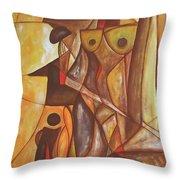 Abstraction 486-10-13 Marucii Throw Pillow