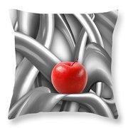 Abstraction 487-10-13 Marucii Throw Pillow