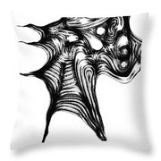 Abstraction 492-10-13 Maruci Throw Pillow