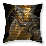 Abstraction 560-11-13 Marucii Throw Pillow