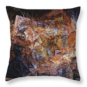 Abstraction 562-11-13 Marucii Throw Pillow