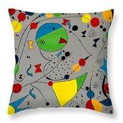 Abstraction 575 - Marucii Throw Pillow