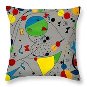 Abstraction 575 - Marucii Throw Pillow