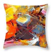Abstraction 586-11-13 Marucii Throw Pillow