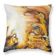Abstraction 589-11-13 Marucii Throw Pillow