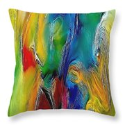 Abstraction 591-11-13 Marucii Throw Pillow