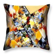 Abstraction 596-11-13 Marucii Throw Pillow