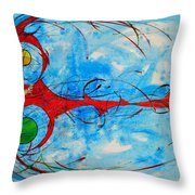 Abstraction 61 Throw Pillow