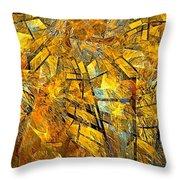 Abstraction 635-12-13 Marucii Throw Pillow