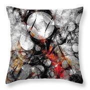 Abstraction 664 - Marucii Throw Pillow