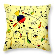 Abstraction 754 - Marucii Throw Pillow