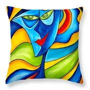 Abstraction 757 - Marucii Throw Pillow