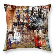 Abstraction 758 - Marucii Throw Pillow