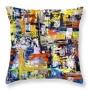 Abstraction 759 - Marucii Throw Pillow