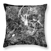 Abstraction B-w 0504 - Marucii Throw Pillow