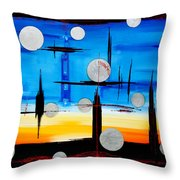 Abstraction - IIi - Throw Pillow
