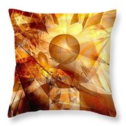 Abstraction072-13 Marucii  Throw Pillow