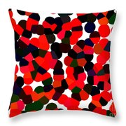 Abstractionism Throw Pillow
