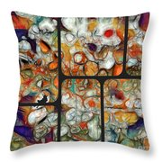 Abstractionnel -29a02 Throw Pillow