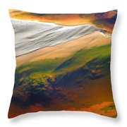 Abstracts Extremophile  Throw Pillow