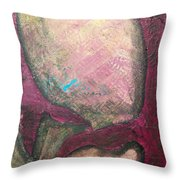 Abstracty Crows Feet Crop Throw Pillow
