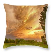 Abyss In The Sky Throw Pillow