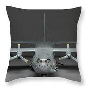 Ac 130 Gunship Throw Pillow