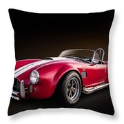 Ac Cobra Throw Pillow