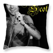 Ac Dc #24 With Text Throw Pillow