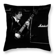 Ac Dc #4 Throw Pillow
