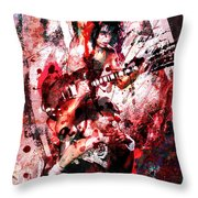 Ac Dc Original  Throw Pillow