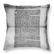 Academy Of Arts & Sciences Throw Pillow