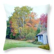 Acadia Autumn 2014 Throw Pillow