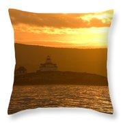 Acadia Lighthouse  Throw Pillow