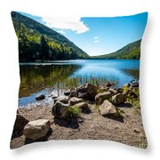 Acadia Peace Throw Pillow