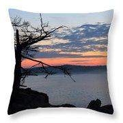 Acadia Sunrise 2 Throw Pillow