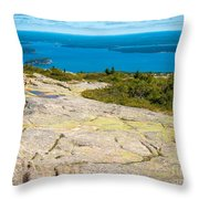 Acadia Views Throw Pillow