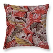 Acanthus Leaf Throw Pillow
